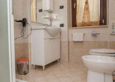 bagno appartamento il casale della fornace