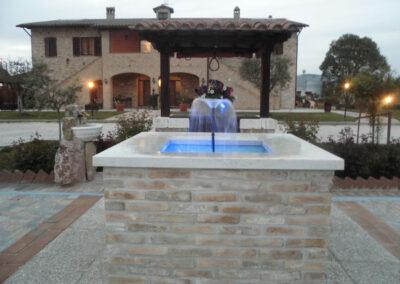 fontana celeste il casale della fornace