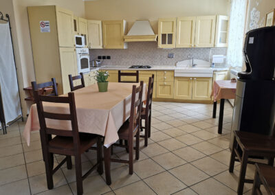 vista sala colazione il casale della fornace