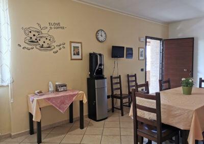 sala per la colazione il casale della fornace
