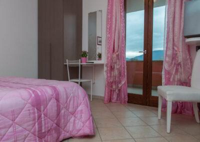 camera da letto vista il casale della fornace
