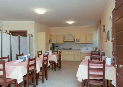 sala colazione il casale della fornace